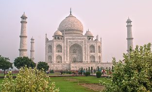 Taj Mahal, Agra, India, Architecture