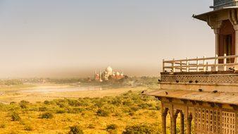 India Taj Mahal Agra Mausoleum Tomb Archit