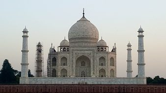 Taj Mahal, India, Agra