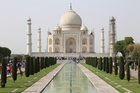 Taj Mahal, India, Agra, Travel, Tomb