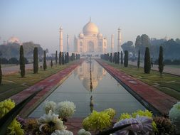 Taj Mahal India Agra Temple Tomb Grave Sun