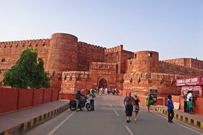 Agra Fort Unesco World Heritage Main Entra