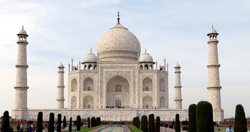 Taj Mahal India Agra Uttar Pradesh Buildin