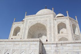 Taj Mahal India Agra Travel Architecture P