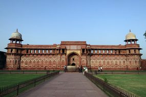 Agra Fort Unesco Heritage Jahangir Mahal A