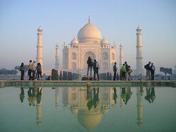India Taj Mahal Agra Temple Tomb Grave Ind