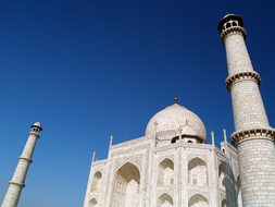 India Agra Marble Architecture Monument Ma