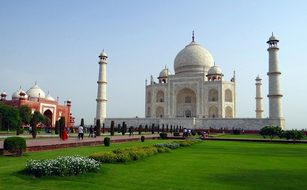 Taj Mahal Unesco Site World Wonder World H