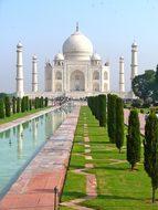 Taj Mahal India Agra Tomb Mausoleum Uttar
