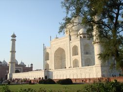 Taj Mahal, India, Agra, Architecture