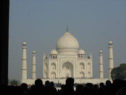 Taj Mahal, Marble, Monument, Mausoleum