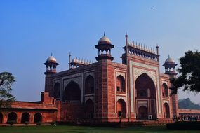 Historical, Building, Agra, Architecture