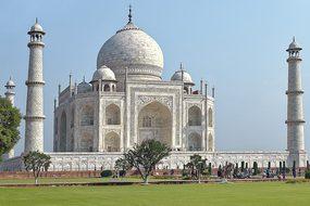 India, Agra, Taj Mahal, Rajasthan