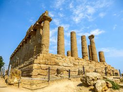 Monument, Greek Temple, Agrigento