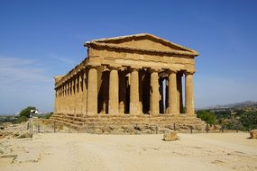 Agrigento, Temple, Greek, Antiquity