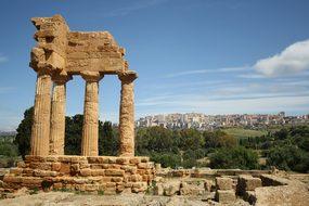 Agrigento Sicily Archaeology Italy Agrigen