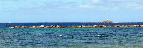 Alghero, Sardinia, Sea, Lighthouse