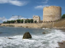 Alghero, Sardinia, Coast, Historically