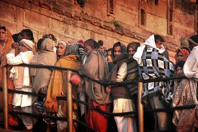 Kumbh Mela Allahabad India Travel People T