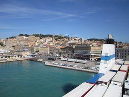 Port, Car Ferry, Sea, Travel, Holiday