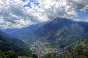 La Vella Andorra Mountains Pyrenees Glen T
