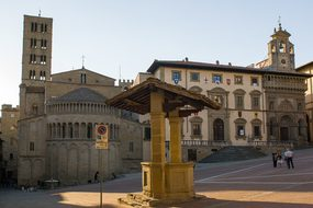 Italy, Arezzo, Area, Cathedral