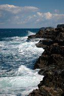 Sea, Bari, Italy, Foam, Surf, Wave