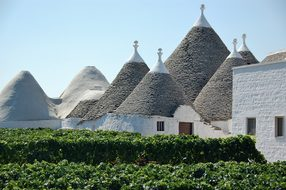 Trulli Puglia Roof Italy Hut Apulian Dry S