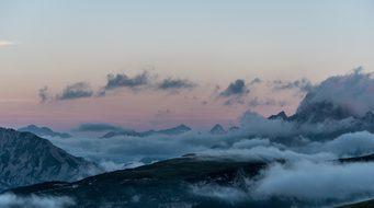 Dawn, Mountains, Mountain, Italy, Trail