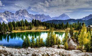 Sorapiss, Antelao, Dolomites, Mountains
