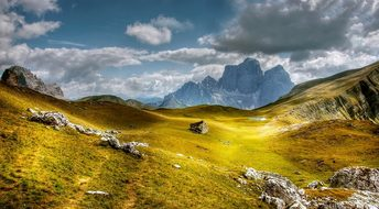 Dolomites, Mountains, Monte Pelmo, Italy