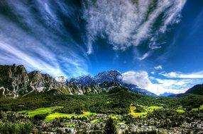 Cortina D Ampezzo Dolomites Italy Cortina