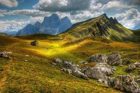 Dolomites, Mountains, Italy, View