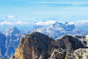 Dolomites, Mountains, Tofana, Alpine