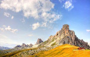 Ra Gusela, Dolomites, Mountains, Italy