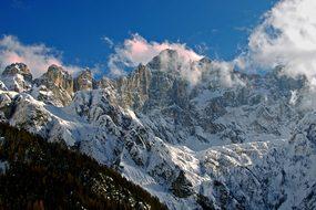 Alleghe Dolomites Monte Civetta Sci Dolomi