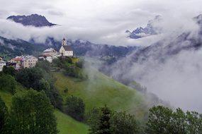 Colle Saint Lucia Ladinia Dolomites Italy