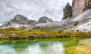 Paternkofel, Dolomites, Mountains, Italy