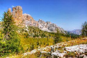 Dolomites, Tofane, Nature