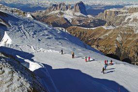 Marmolada, Dolomiti Superski, Dolomites