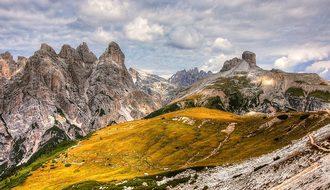 Birkenkofel, Dolomites, Mountains, Italy