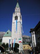 Cortina D'Ampezzo, Church, Belluno