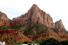 Watchman, Zion, Park, National, Nature