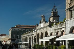 Bergamo, Italy, City Square