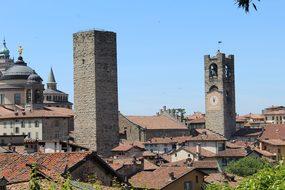 Bergamo High City Bergamo Alta Lombardy It