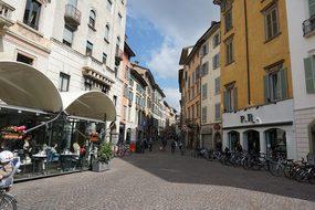 Bergamo, Italy, Holiday, City