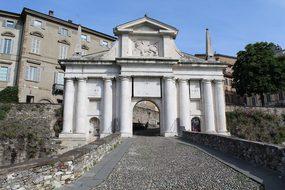 Bergamo, S Door, James, City Entrance