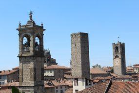 Bergamo, Lombardy, Italy, High City