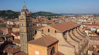 Italy Bologna Historically City Architectu