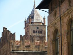 Italy Bologna Piazza Majorises Ramparts Sl